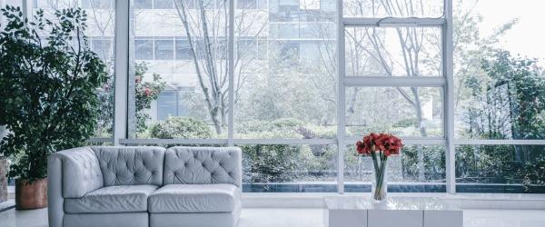 grande surface vitrée