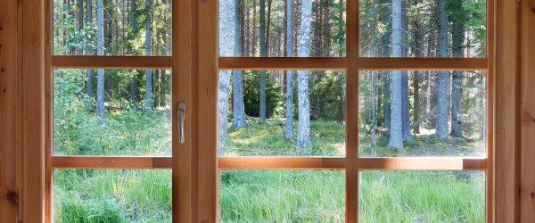 installation fenêtre en bois
